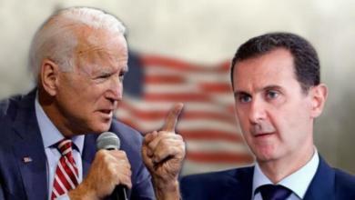 بايدن والأسد
