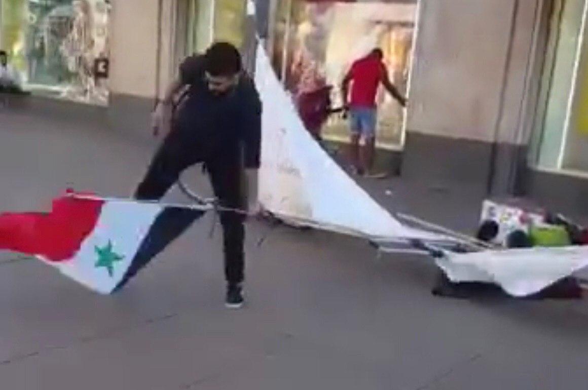 مشاجرة واشتباكات بالأيدي بين موالين ومعارضين للنظام السوري في ألمانيا