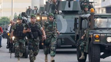 لبنان تعتقل 30 لاجئاً سورياً لدخولهم البلاد بصورة غير شرعية