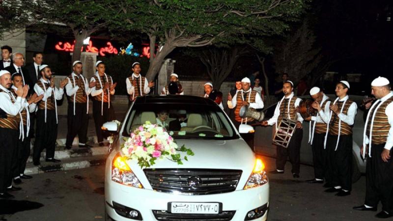 الأعراس السورية تسجل تكلفة فلكية
