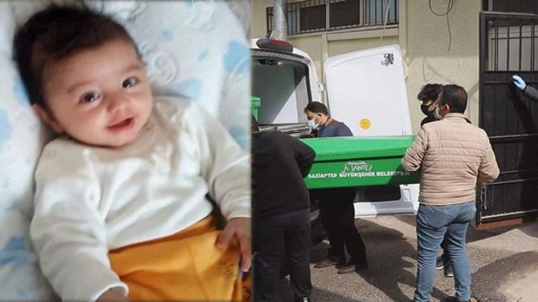 وفاة طفل بعمر الـ 6 أشهر في ولاية غازي عنتاب