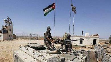 الجيش الأردني: مقتل شخص سوري حاول تهريب المخدرات