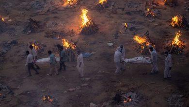 محارق الجثث في الهند تمتلىء بسبب كورونا