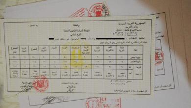 الكشف عن 60% من شهادات دراسية مزورة صادرة من سوريا
