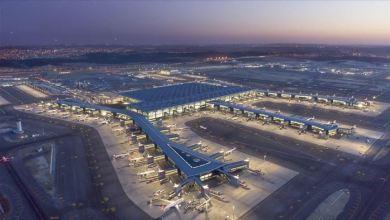 مطار إسطنبول يتفوق على المطارات الأوروبية بعدد الرحلات