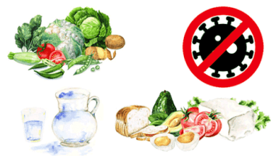نصائح غذائية صحية لمرضى كورونا