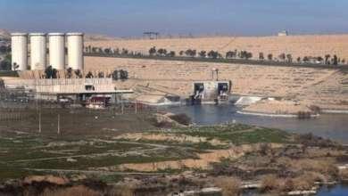 انخفاض منسوب مياه بحيرة سد الفرات حوالي 6 أمتار