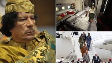 بعد توقف سبع سنوات.. تقلع طائرة القذافي