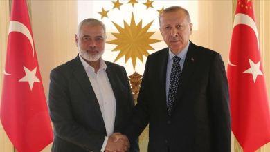 هنية.. فلسطين غنية بالغاز ومن الممكن عقد اتفاقية مع تركيا
