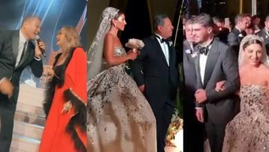 حفل زفاف أسطوري.. لابنة نائب في برلمان الأسد في الغردقة