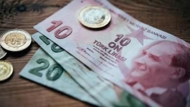 هبوط في سعر صرف الليرة التركية أمام الدولار