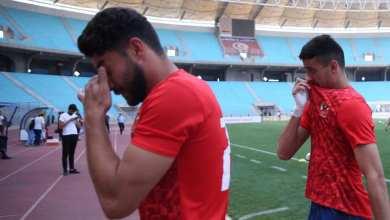 حالات اختناق للاعبي الأهلي المصري بسبب أعمال الشغب لجماهير الترجي