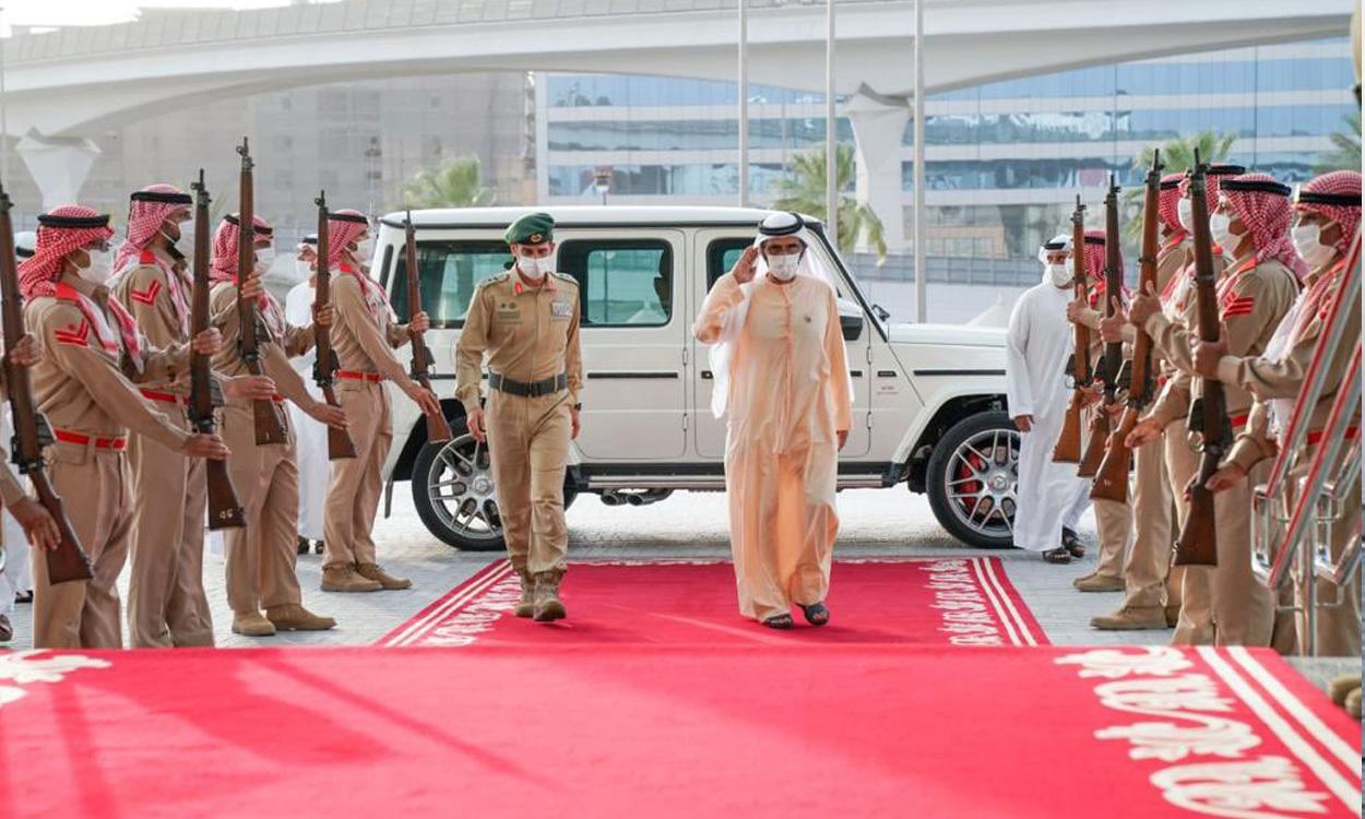 حاكم دبي يدشن منصة Drone Box لإطلاق طائرات دون طيار