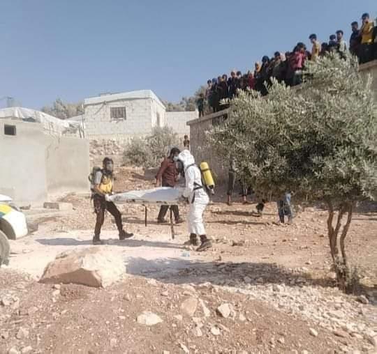 رجل يقتل زوجته ويخفي جثتها داخل برميل في إدلب