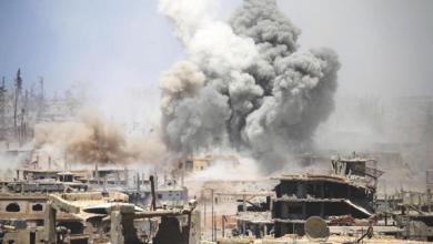 """استشهد اليوم الاثنين """" محمد مطلق محاميد"""" نتيجة القصف الذي تشنه قوات النظام والميليشيات الداعمة لها على درعا البلد المحاصرة منذ مدة."""