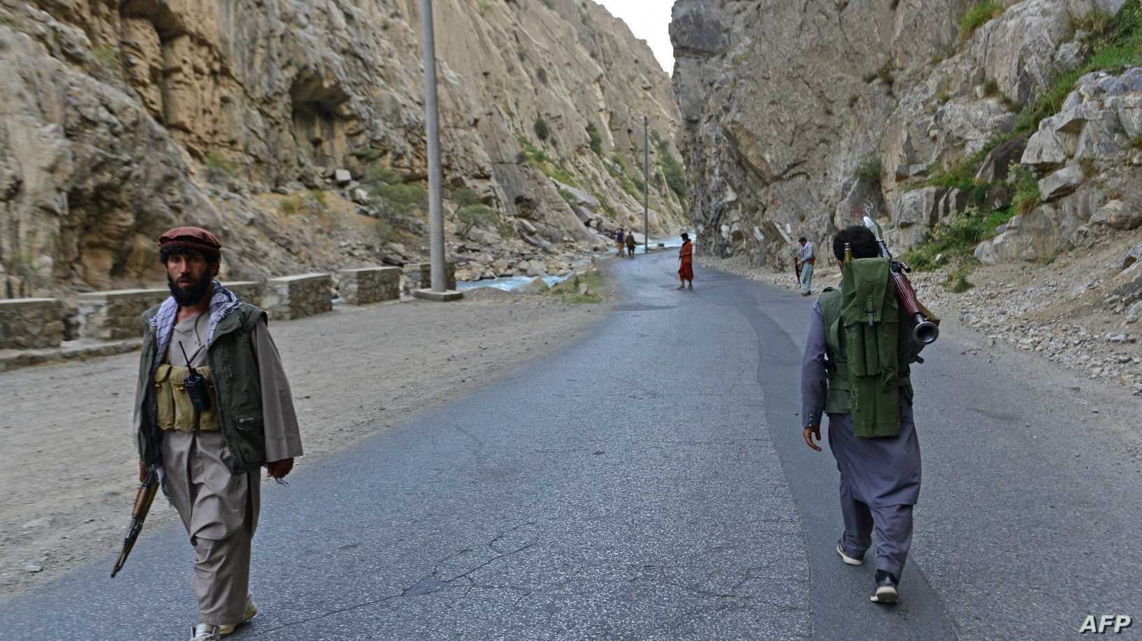 """حركة طالبان تعلن السيطرة على """"بانشير"""""""