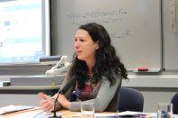Szilvia Suri from the Roma Press Centre