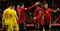 Spanyol vs Rumania 5-0 Highlights