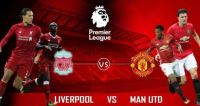 Lineup Liverpool vs Manchester United