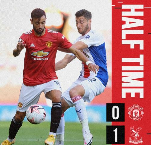 HT: Manchester United vs Crystal Palace 0-1 Highlights
