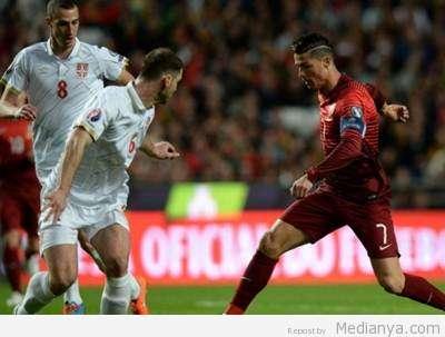 Portugal VS Serbia 2015