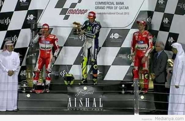Rossi MotoGP Qatar 2015