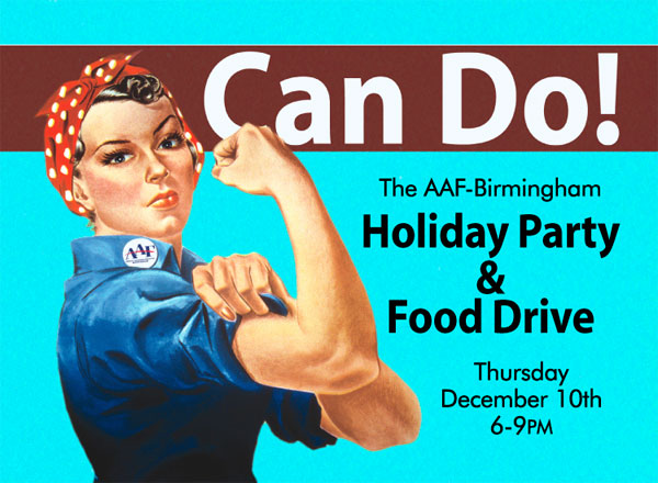 AAF Birmingham - AAF Holiday Party and Food Drive