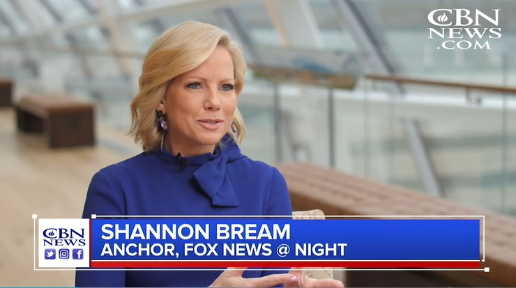 Shannon Bream CBN Interview