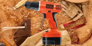 This Black and Decker Cordless Drill Is 50 Percent Off Today