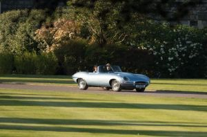 The Weird Detail You Might Have Missed About Prince Harry's Wedding Reception Car
