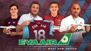 Eva Air partners with West Ham for upcoming Premier League season