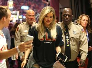 Khloe Kardashian Resurfaces to Cheer On Tristan Thompson During NBA Finals