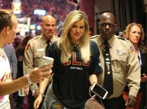 Khloe Kardashian Resurfaces to Cheer On Tristan Thompson During NBA Finals