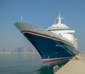 Boudicca kicks of Qatar cruise season