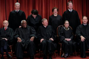 U.S. Supreme Court Justices Pose For 2018 Class Photo, Twitter Users Chime In