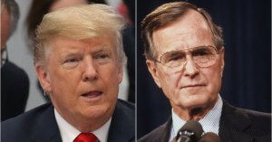 Donald Trump Once Mocked The Same George H.W. Bush Quote He Used To Remember Him