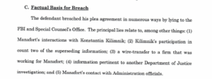 Here Are The Most Interesting Parts Of The Latest Mueller Filings