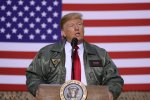 Trump Visits Iraq, His First Trip To A Combat Zone In His Life