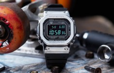 Casio unveils an all metal G-Shock for those who need real steel