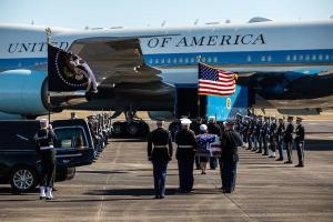 Trump to Attend Bush Funeral, but Won't Deliver Eulogy