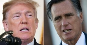 Donald Trump Fires Back At Mitt Romney: 'I Won Big, And He Didn't'