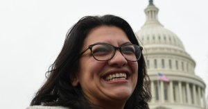 GOP Clutches Pearls Over Rep. Rashida Tlaib's 'Foul Language,' Shrugs Over Trump's