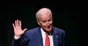 Biden: Rush Limbaugh, A 'Conservative Blonde Woman' Pushed Trump Towards Shutdown