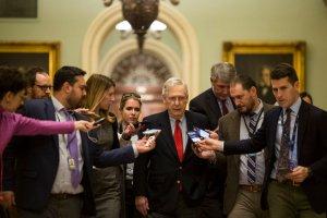 Senate Democrats Block GOP Middle East Bill Over Shutdown