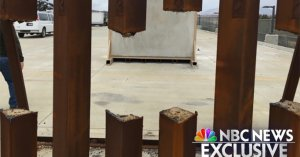 New Photo Shows Steel Border Wall Prototype Can Be Breached With Saw