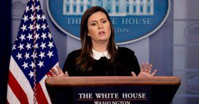 Sarah Huckabee Sanders Defends Lack Of Briefings, Accuses Reporters Of Wanting To Be 'Stars'