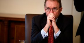 Mulvaney Says Trump Is Prepared For Another Shutdown