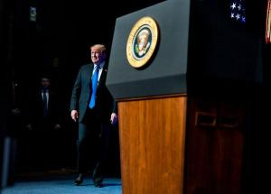 At Pentagon, Trump Announce Expansion of Missile Defenses