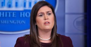 Sarah Huckabee Sanders Has A New Name For Trump's 'Executive Time'