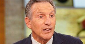 Howard Schultz Prefers You Use Another Term Besides 'Billionaire'